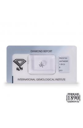 Diamante 1,00 ct - PREZZO SU RICHIESTA